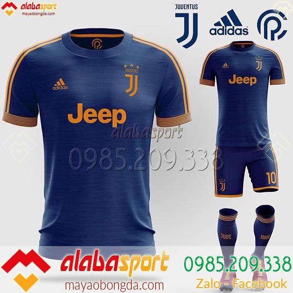 Áo Đá Bóng CLB Juventus Tự Thiết Kế Mã ALB 013