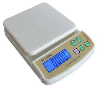 Cân tiểu ly điện tử SF-400A 2kg x 0.1g