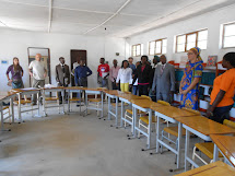 Opening of pedagogical centres in Angola
