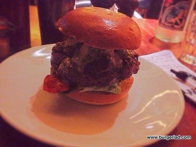 Hawksmoor Kimchi Burger