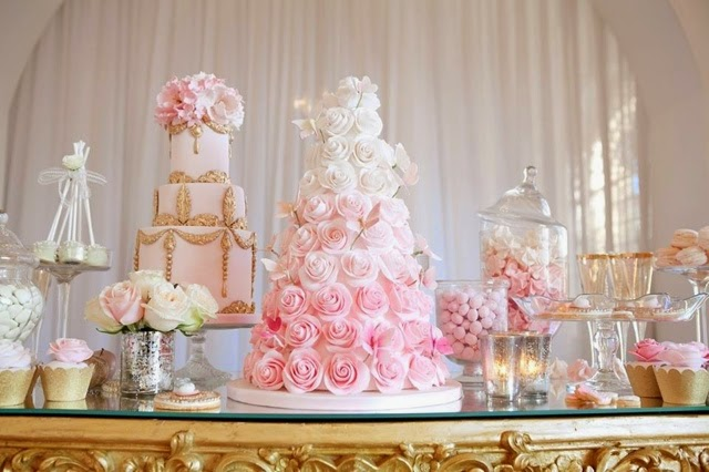 Wedding Cake Dessert Bar
