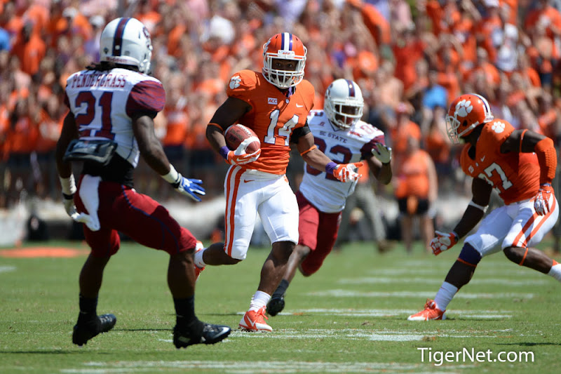 SC State vs. Clemson Photos - 2013, Football, Martin Jenkins, SC State