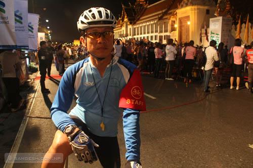 Event staff - Standard Chartered Bangkok Marathon