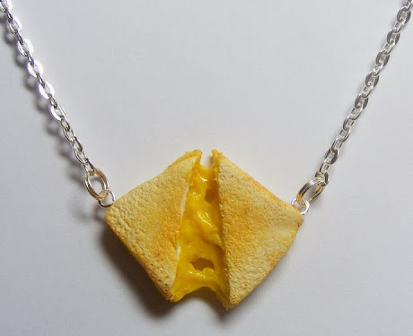 Grilled Cheese Sandwich Pendant by Neat Eats