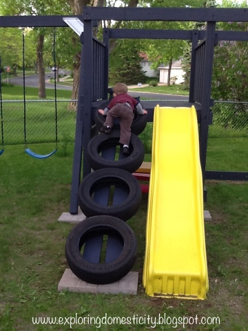 Tire Climbing Wall Archives ⋆ Exploring Domesticity