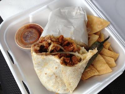 Street food - Adobada burrito