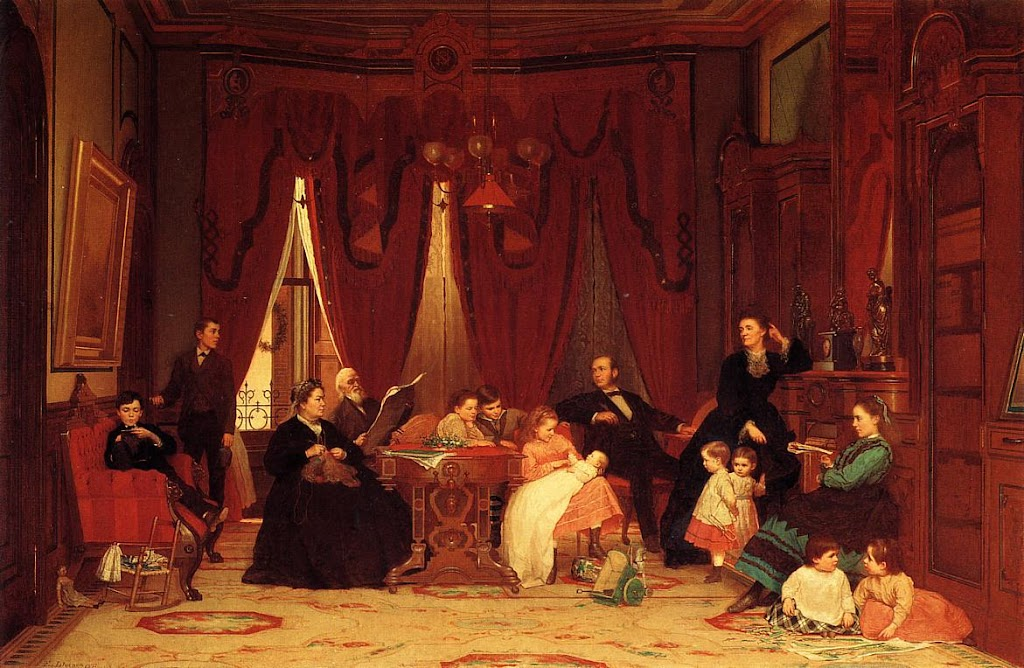 Eastman Johnson - The Hatch Family