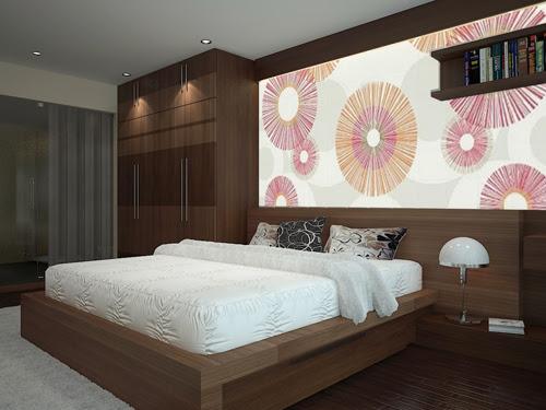 Giường ngủ của phòng bố mẹ