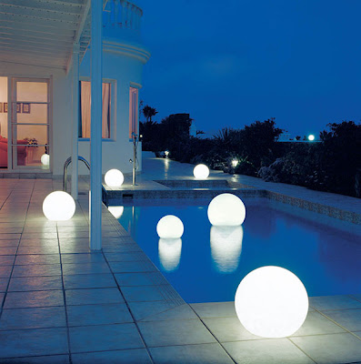 Moonlight Globe Light White