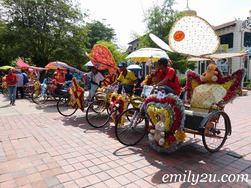 Melaka trishaw ride