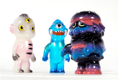 Super7 Monster Family Releases: Patty Power by Arbito, Drunk Seijin by KaToPe & the Gargamel x Le Merde Zagarad Vinyl Figures