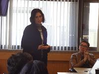 La Dra. Anglés ofrece una conferencia a los Jóvenes sobre delitos ambientales, su trato jurídico, las repercusiones sociales y sus impactos nocivos en el medio ambiente y el ser humano.