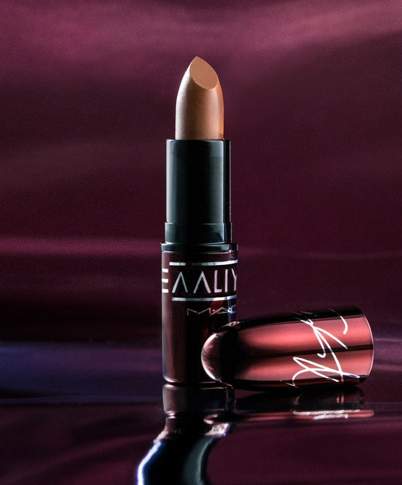 MAC x Aaliyah Lipstick Try Again