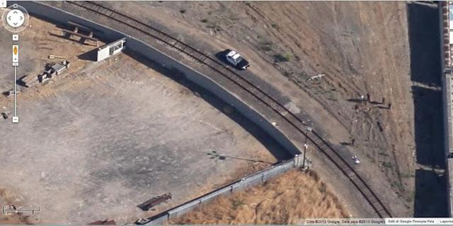 maps.google.com Lokasi pembunuhan pada Agustus 2009 yang masih terekam setidaknya sampai Selasa (19/11/2013) siang, di Richmond, California, Amerika Serikat