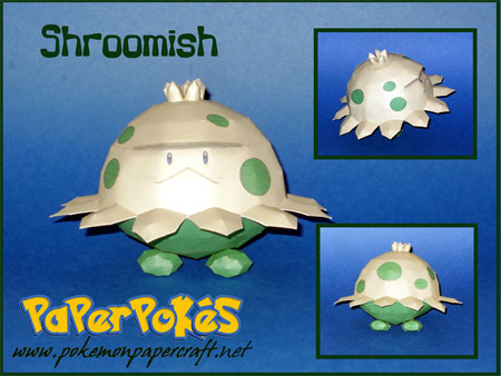 Pokemon Shroomish Papercraft