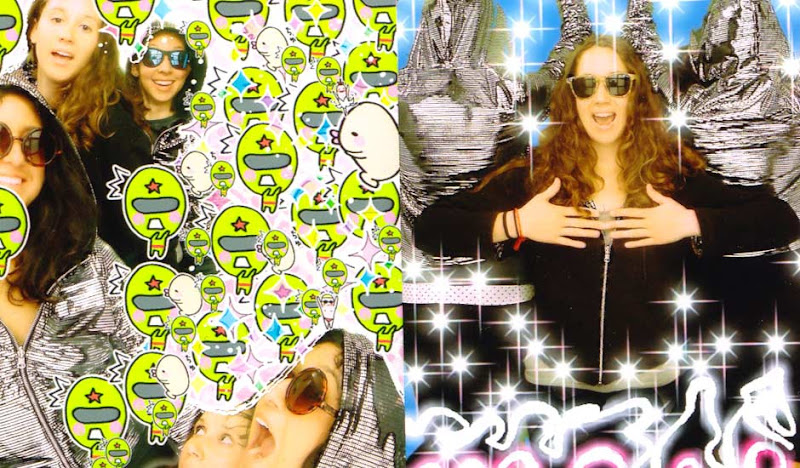 Women's Disco Hoodie Victoria Photo Booth
