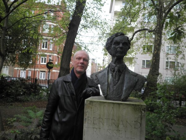Me and Bertie in Red Lion Square in London in 2012