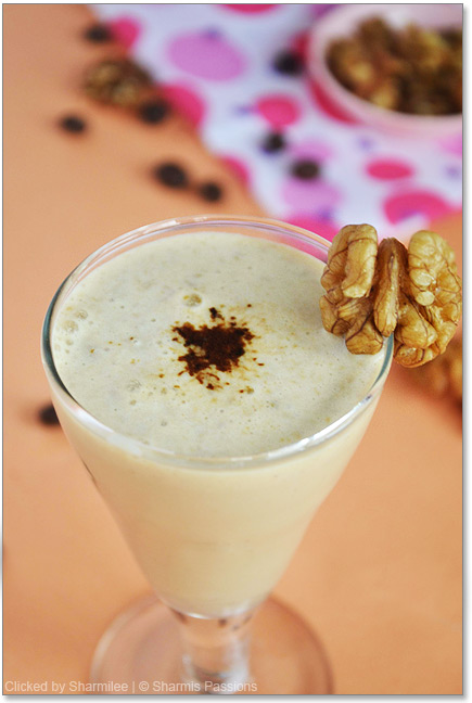 Coffee Walnut Smoothie Recipe