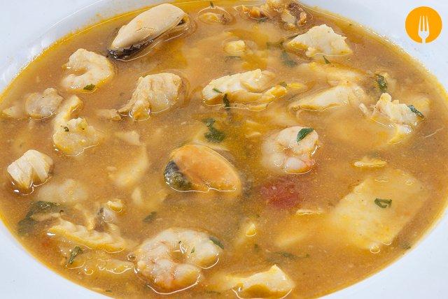 receta sopa pescado sencilla