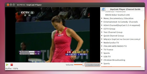Sopcast Player su Ubuntu 12.04