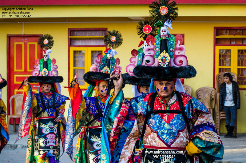 Black Hat Dance, Tibetan Black hat dance, Black hat dance in Sikkim