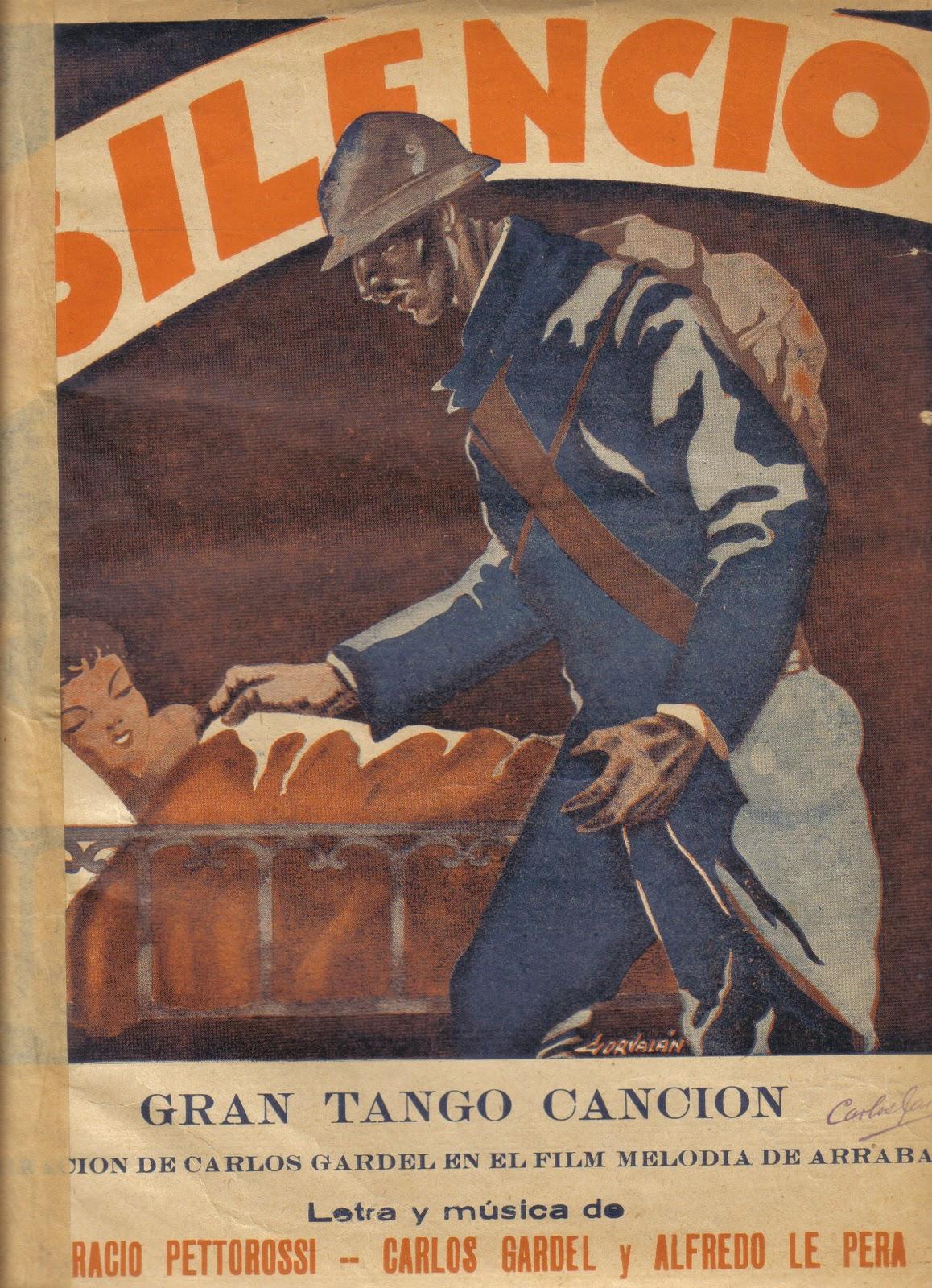 Resultado de imagen para silencio  tango