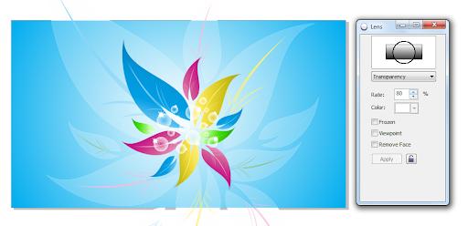 Nền hoa trang trí Desktop với CorelDRAW X5