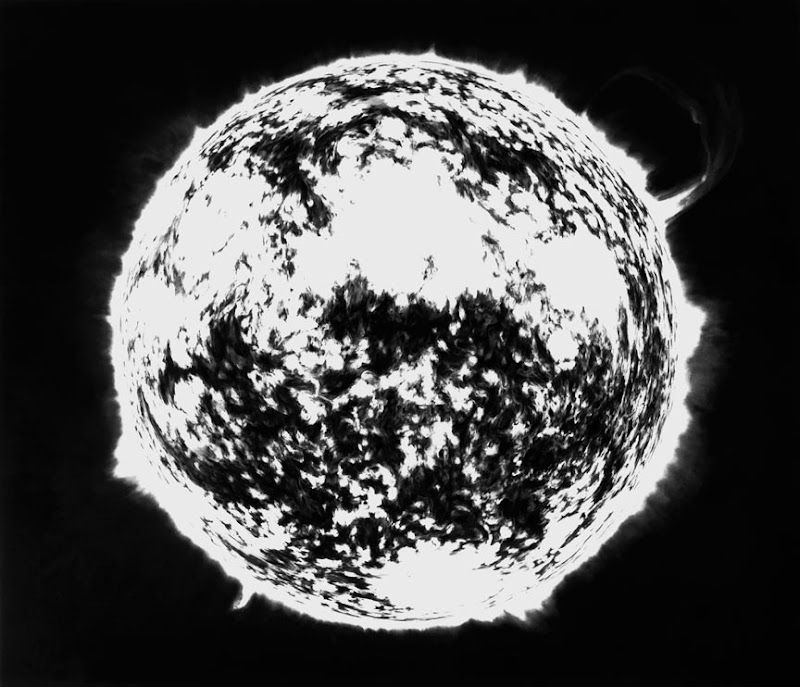 UNTITLED (HOT SUN) by Robert Longo