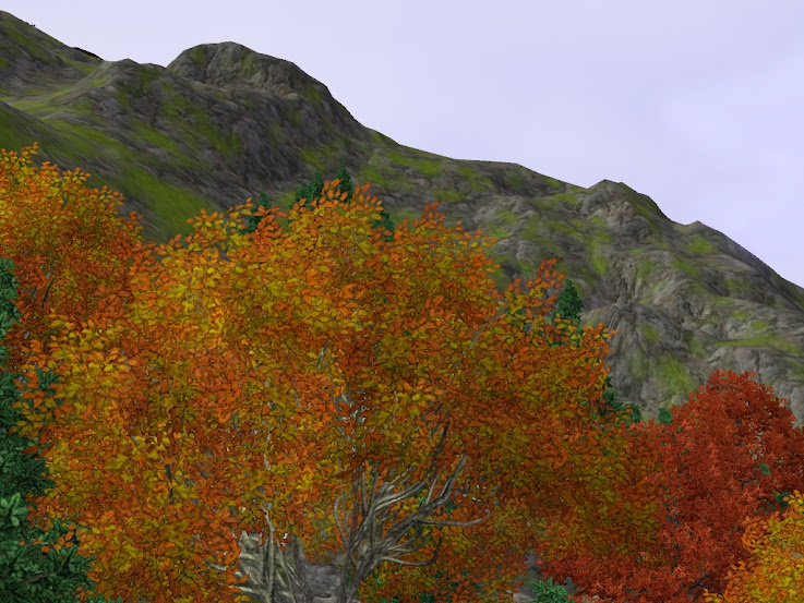 sims 3 north mountains