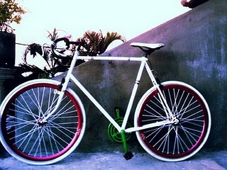 Daya Tarik Sepeda Fixie:Modifikasi Sepeda Fixie