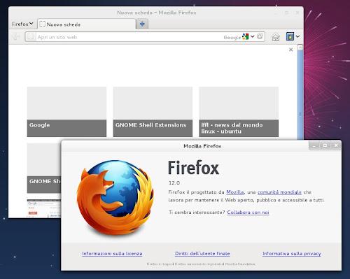 la nuova Tab Speed Dial su Firefox 12