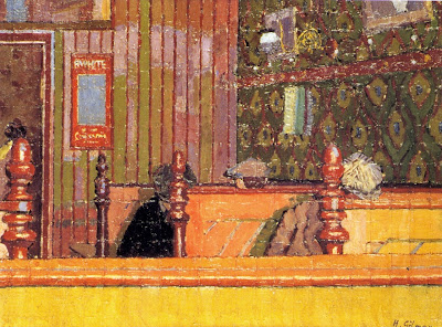 Harold Gilman - An Eating House
