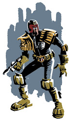 Judge Dredd by Rob Davis