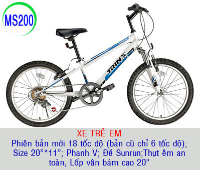 xe dap the thao trinx ms200
