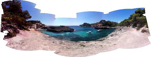 Cala Salmonia en Mallorca
