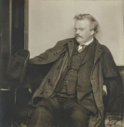 G K Chesterton On Materialist Beliefs