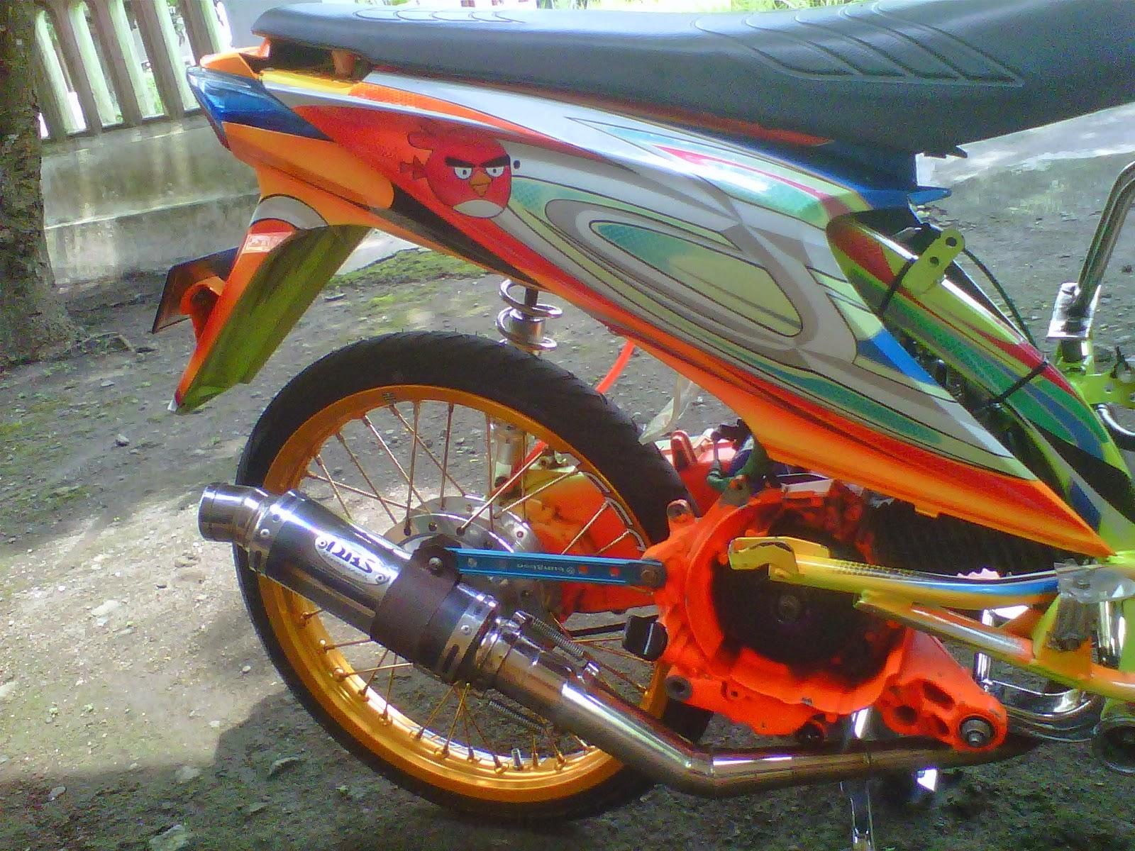 Honda Beat Modifikasi Airbrush