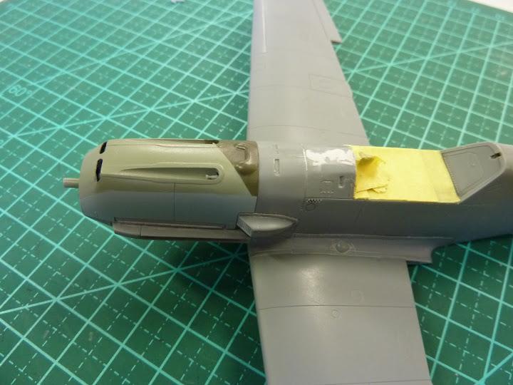 Bf-109 E-3 Tamiya 1/48 - Reforma pintura P1020440