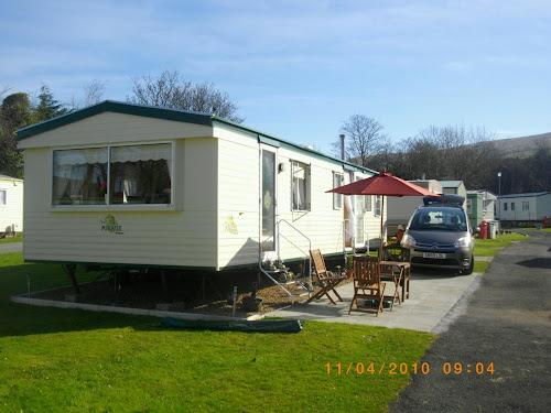 Camping  at Byne Hill Caravan Park