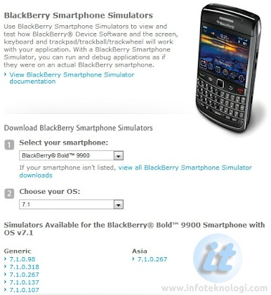 Download Blackberry Simulator