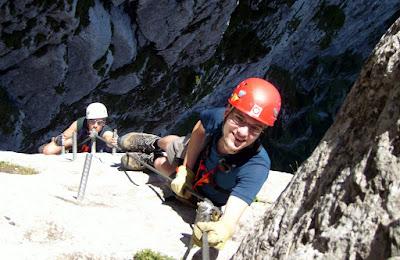Klettersteig, foto Vašek