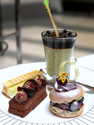 Afternoon tea at the Corinthia in London