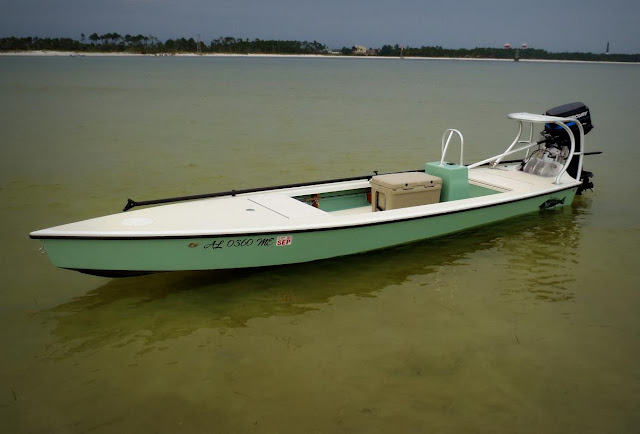 "microskiff.com - ""La Flaca"" aluminum added!!!"