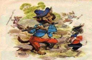 El lobo flautista y el cabrito
