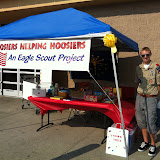 Carmel Boy Scouts Sean Carroll's Eagle Project