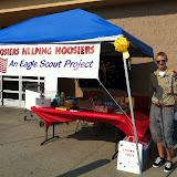 Carmel Boy Scouts Sean Carroll's Eagle Project