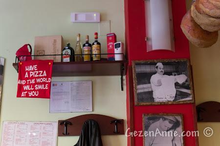 Sorrento'daki Da Franco'nun içinden