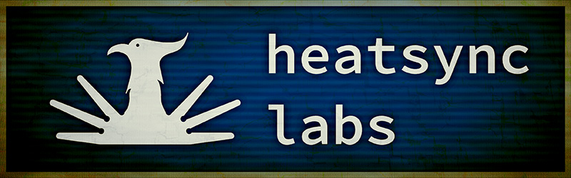 design exercise: an alternate logo for HeatSync Labs
