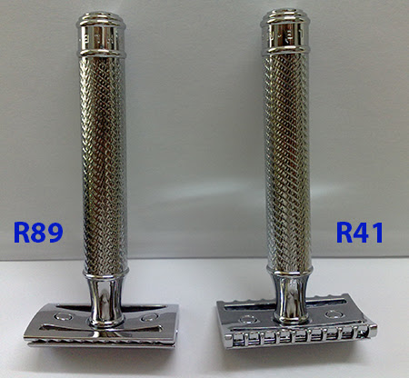 MUHLE Safety Razor R89 vs R41 Safety Razor R 89 vs Safety Razor R 41 (MÜHLE)