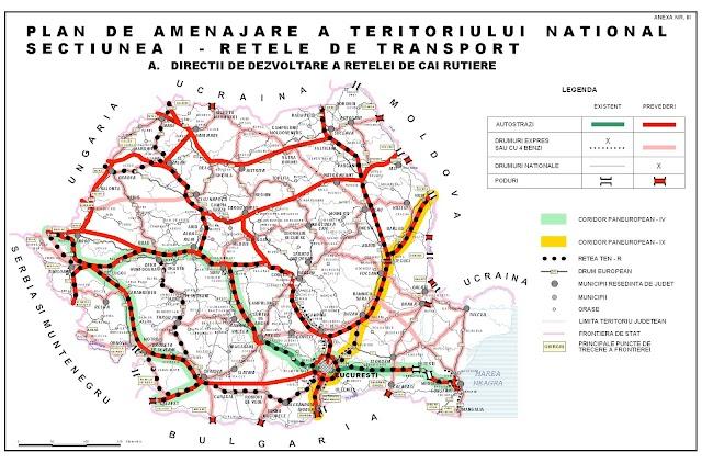 Suceava în 2030: două autostrăzi şi două drumuri expres